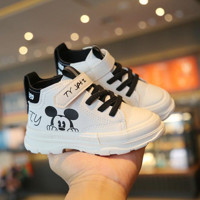 Giày thời trang trẻ em cổ cao cho bé MB542 giá rẻ