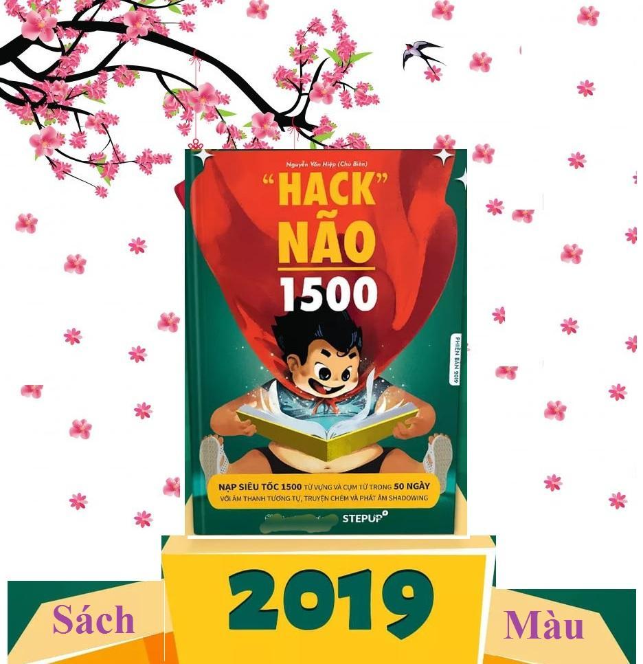 ( Bản Mới 2019 Có Màu ) Sách - Hack Não 1500 Từ Vựng Tiếng Anh - tặng kèm audio Nhật Bản