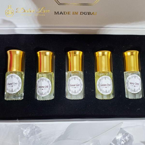 Nước hoa Nữ, Nước Hoa Mini Dubai chai lẻ và set 5 chai thiết kế - Bestore VN nhập khẩu