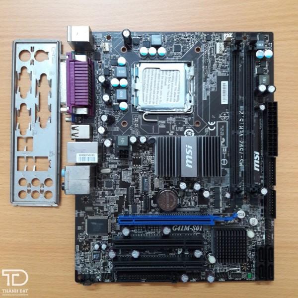 Bảng giá Main G41 Msi DDR3 Socket 775 Cũ, Nguyên zin Phong Vũ