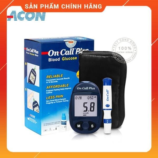 Máy Đo Đường Huyết Acon On Call Plus + Tặng hộp 25 que thử và hộp 50 kim chích máu bán chạy