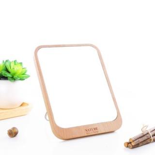 Gương Soi Trang Điểm Gỗ Để Bàn - Gương mini, Gương trang điểm, Gương để bàn - VyVy Giftshop thumbnail