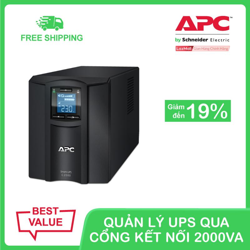 Bảng giá Bộ lưu điện thông minh APC Smart-UPS C 2000VA LCD 230V Phong Vũ