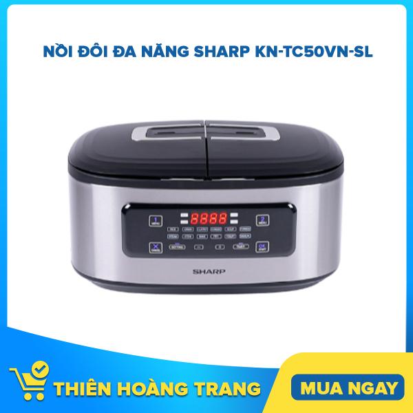Nồi đôi đa năng Sharp KN-TC50VN-SL