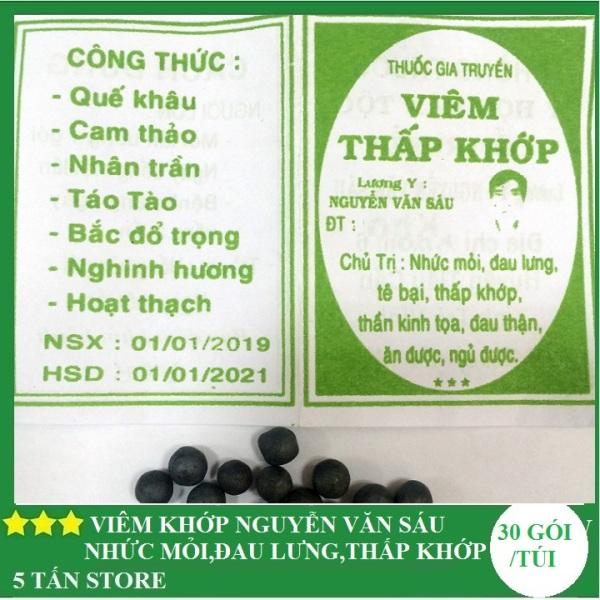 Thấp Khớp Nguyễn Văn Sáu tỉnh Trà Vinh - túi 50 gói