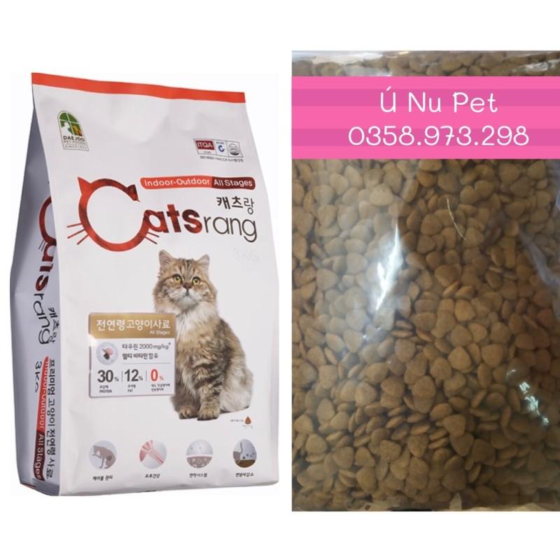 Hạt khô Catsrang cho mèo - Ú Nu Pet