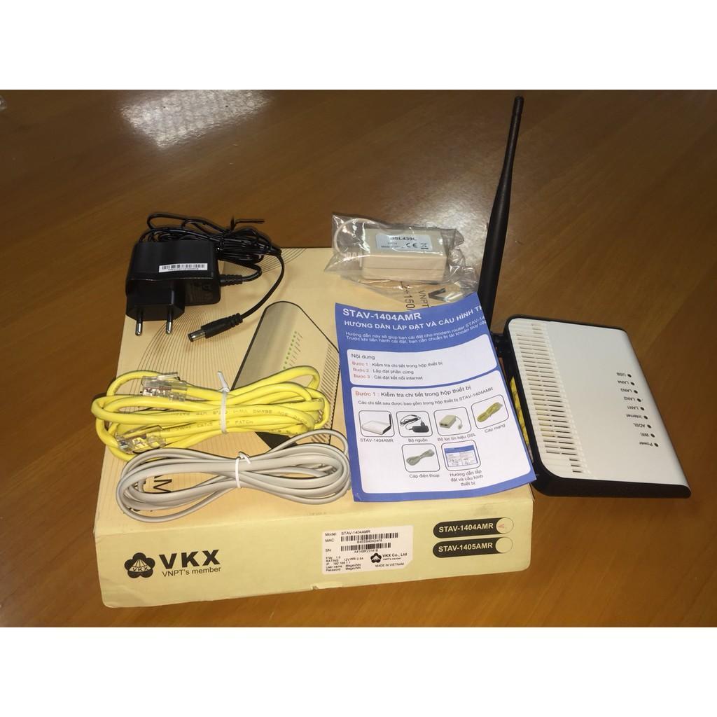 [ XẢ KHO ] Bộ phát sóng wifi 2 râu VNPT STAV-1405AMR tốc độ Wi-Fi chuẩn N 300Mbps - Bảo hành 12 tháng
