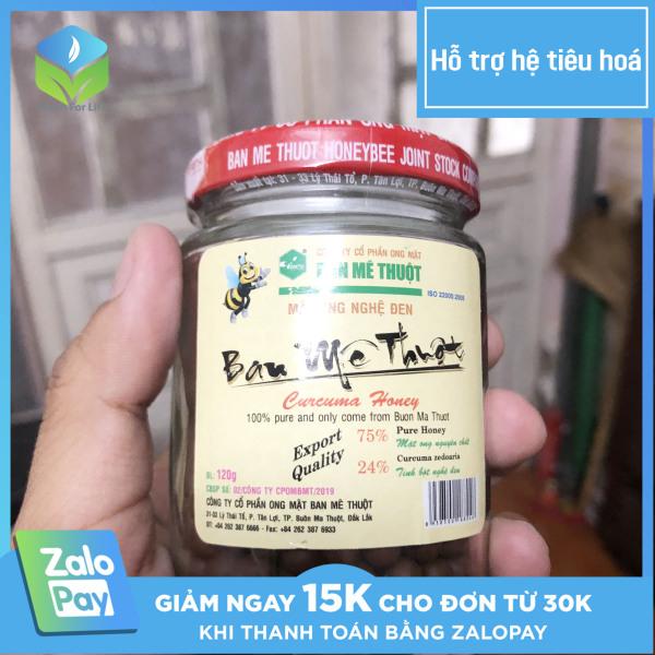 Viên nghệ đen mật ong 120g công thức gia truyền chính hãng Ban Mê Thuột, tốt cho sức khỏe, hỗ trợ bao tử, tá tràng, viêm loét dạ dày, bổ huyết, tăng đề kháng cơ thể, đẹp da, giảm cân [Green For Life] [G F L]