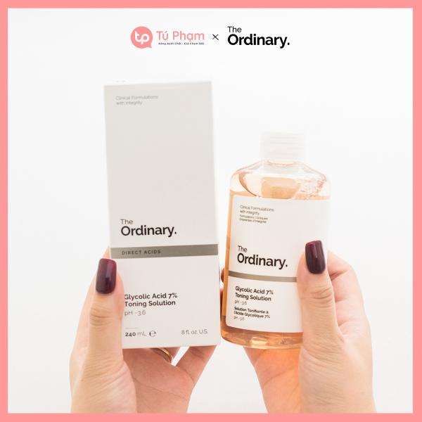 Nước Hoa Hồng The Ordinary Glycolic Acid 7% Toning Solution 240ml