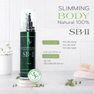 Tinh Dầu Ủ Nóng Tan Mỡ Bụng Slimming Body SB-II (chai 100ml) thumbnail