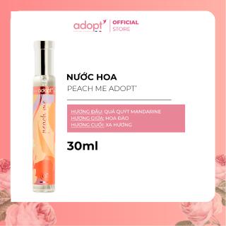 Nước hoa nữ Adopt PEACH ME Hương Thơm Trẻ Trung - Adopt Eau de Parfum For Women 30ml - Nước Hoa Pháp Chính Hãng thumbnail