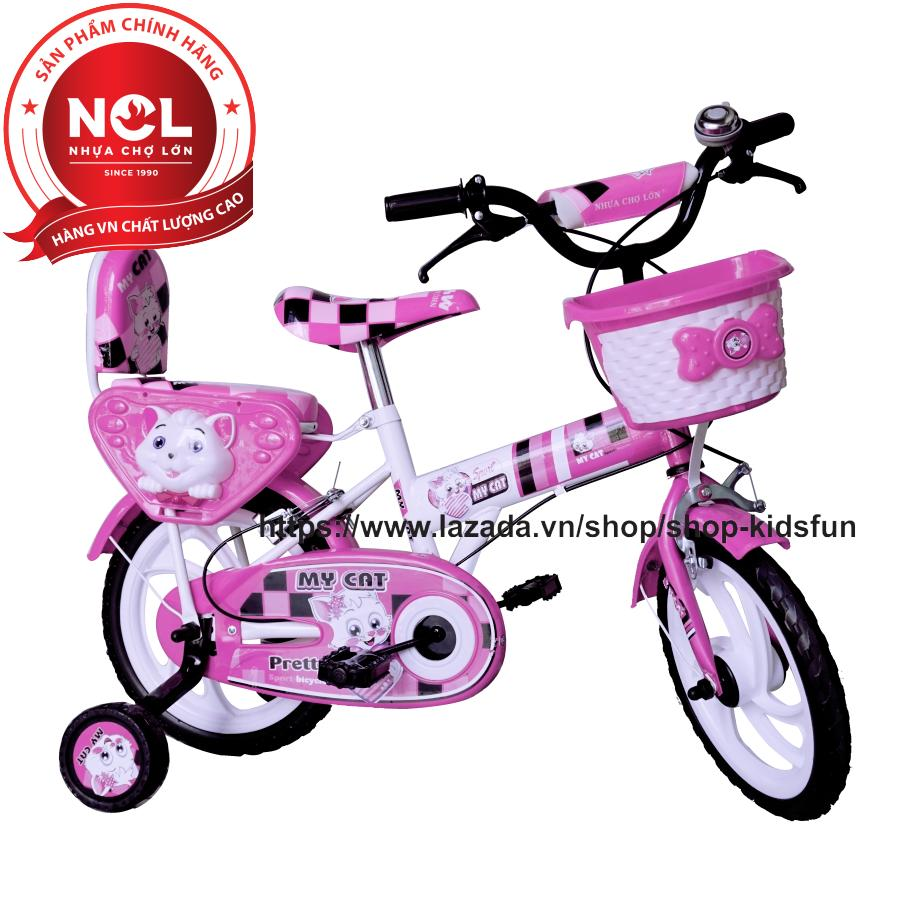Mua Xe đạp trẻ em Nhựa Chợ Lớn 12 inch K88 - M1611-X2B