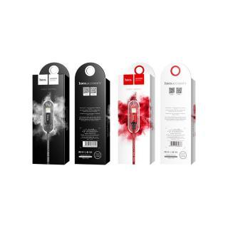 [ Mã giảm giá 60k cho đơn hàng từ 400k ] Cáp sạc nhanh và truyền dữ liệu Lightning Hoco X14 sạc nhanh 2A MAX dây sạc bọc dù chống rối chống đứt dành cho iPhone XS max iPhone 11 iPhone 11 Pro max dài 100cm 5
