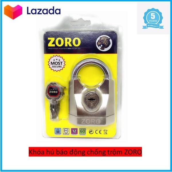 Ổ khóa báo động chống trộm chống cắt Zoro chìa kiếm chống bẻ đoãn