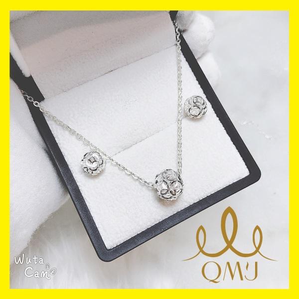 - Bộ bạc đẹp bạc 925 cao cấp QMJ, bạc chuẩn 100% -Bộ CHÂU KIM TIỀN thiết kế những đồng tiền đan xen vào nhau tạo biểu tượng cho sự may mắn và hạnh phúc[QB015]
