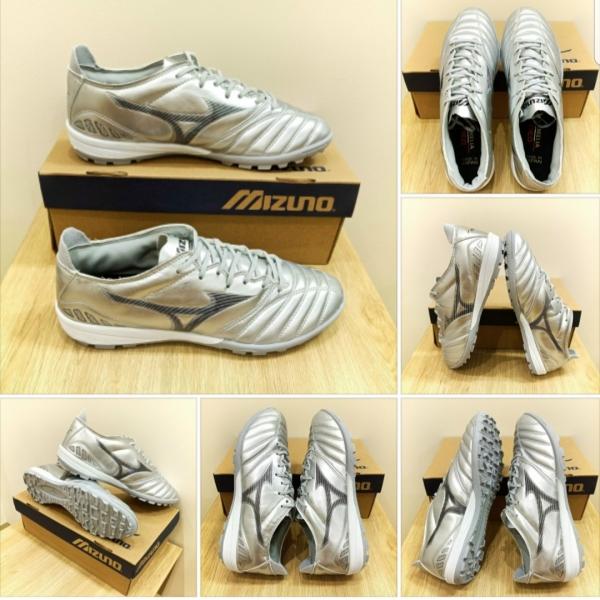 Giày đá bóng sân cỏ nhân tạo Mizuno Neo 3 Màu Bạc đế TF