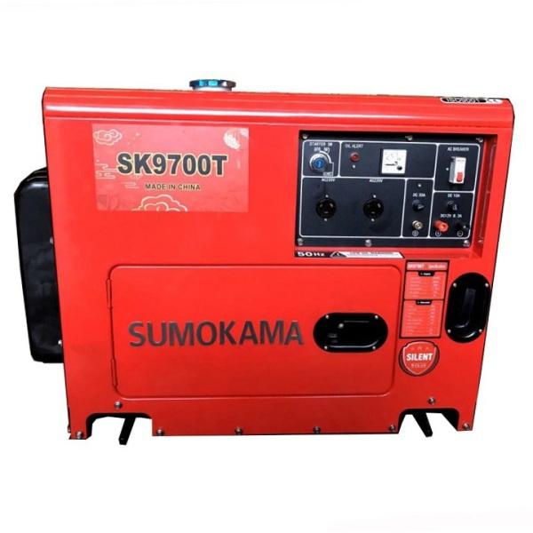 Máy Phát Điện Chạy Dầu 6Kw Sumokama SK9700T