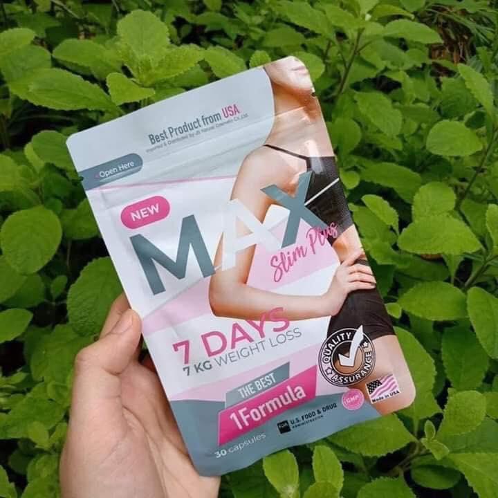 (siêu sale 12.12)Giảm cân Thái Lan Max 7days dạng gói nhập khẩu