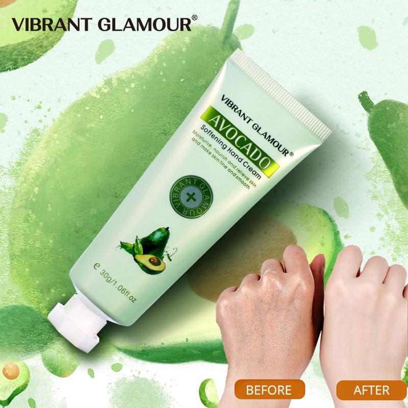 Kem dưỡng da tay VIBRANT GLAMOUR mềm mại chống lão hóa làm trắng dưỡng ẩm chăm sóc da tay 30g - INTL giá rẻ