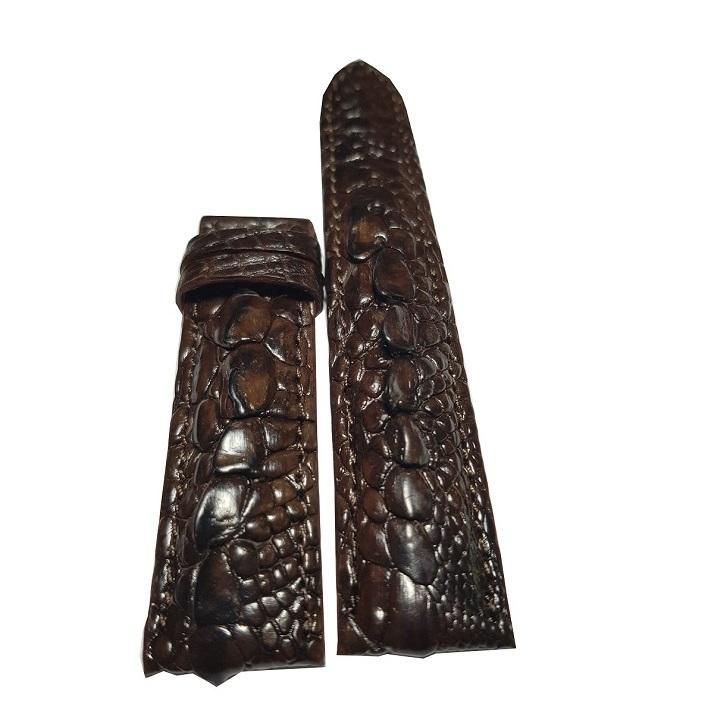 Dây đồng hồ gai tay cá sấu Ruby Luxury độc đáo tặng kèm 6 lưỡi dao cạo râu trị giá 60.000 đ bán chạy