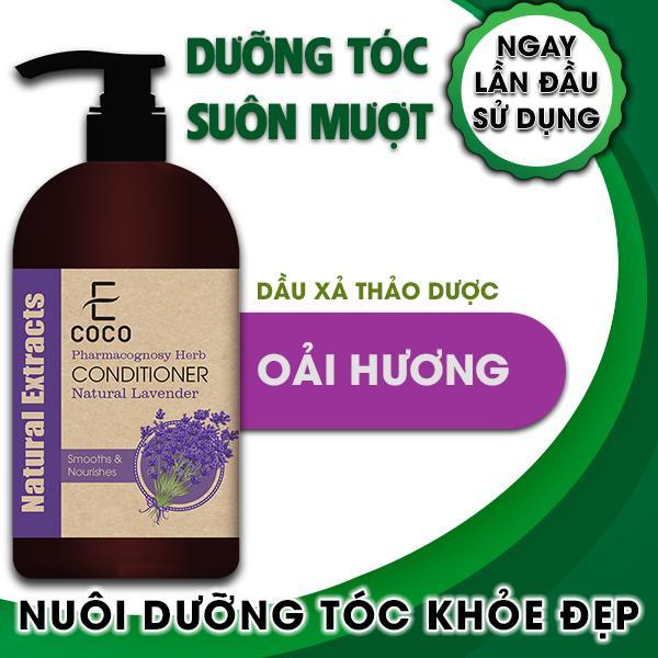 Dầu xả thảo dược dưỡng tóc chiết xuất oải hương Ecoco 180g chính hãng