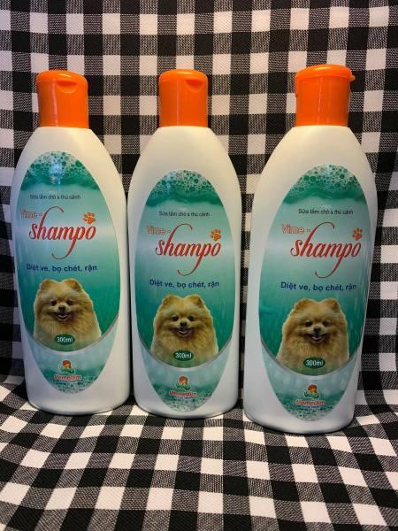 Sữa tắm diệt ve, trị rận bọ chét Vime Shampo dành cho chó và thú cảnh - 300 ml