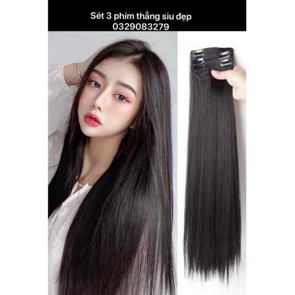 Sét 3 dải kẹp thẳng - dải 3 phím bấm tóc