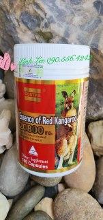 Viên uống tăng cường sinh lý nam COSTAR Essence of Red Kangaroo 20800 Max - 100 viên - NHẬP KHẨU ÚC thumbnail