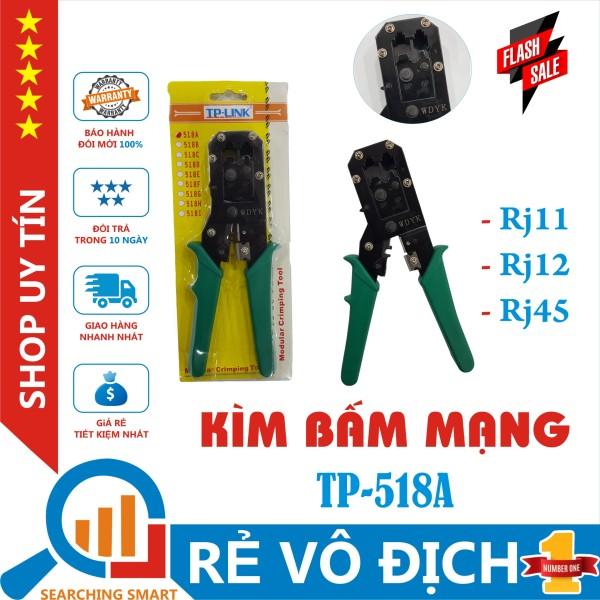 Giá Kìm bấm mạng RJ11/RJ12/RJ45 (2 line) TP-LINK  TP-518A - Thép không gỉ