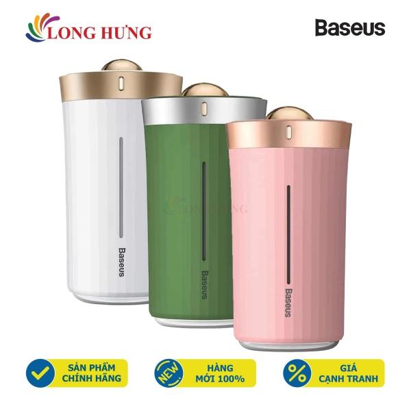 Máy phun sương tạo ẩm mini Baseus DHJY-02 - Hàng chính hãng - Cân bằng độ ẩm không khí tự nhiên, công suất 100W, sử dụng liên tục lên đến 12h