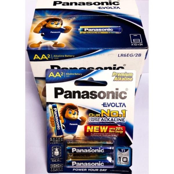 Bảng giá Hộp 12 Đôi Pin AA Panasonic Evolta
