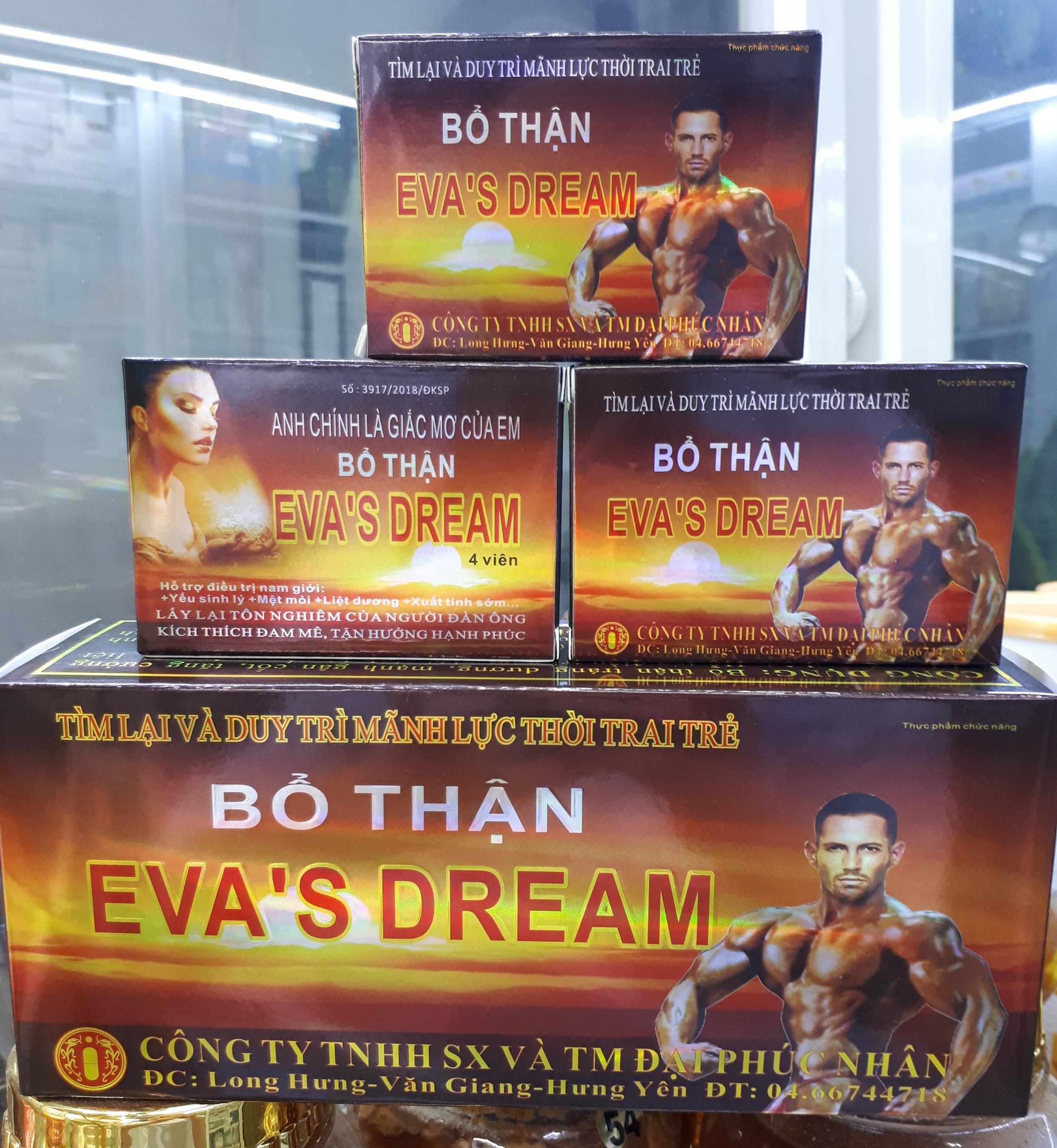 Viên uống tăng cường sinh lý nam giới EVAS DREAM cao cấp