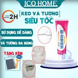 Keo vá tường thông minh trám các vết nứt tường nhanh chóng và hiệu quả - Ico Home thumbnail