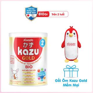 [Tinh tuý dưỡng chất Nhật Bản] Sữa bột KAZU BIO GOLD 810g 2+ thumbnail