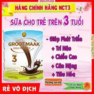 - Sữa Bột Cho T Trên 3 tuổi GROOT MAAK Hương Socola (900g) [ Sản phẩm công ty NCT3 ] thumbnail