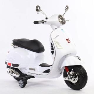 Xe máy điện moto 3 bánh Vespa TS-H6588 cho bé đạp ga vận động ngoài trời (Xanh-Hồng-Đỏ-Trắng) thumbnail