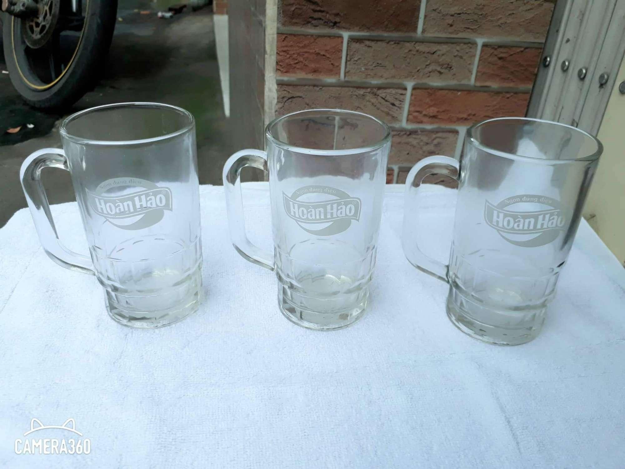 Com bo 3 ly thủy tinh Hoàn Hảo