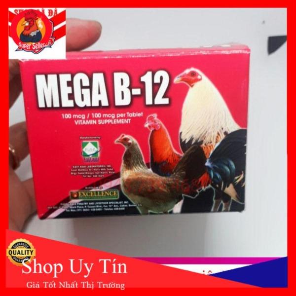 Mega B12 Vĩ 10 Viên Dinh Dưỡng Cho Gà Đá