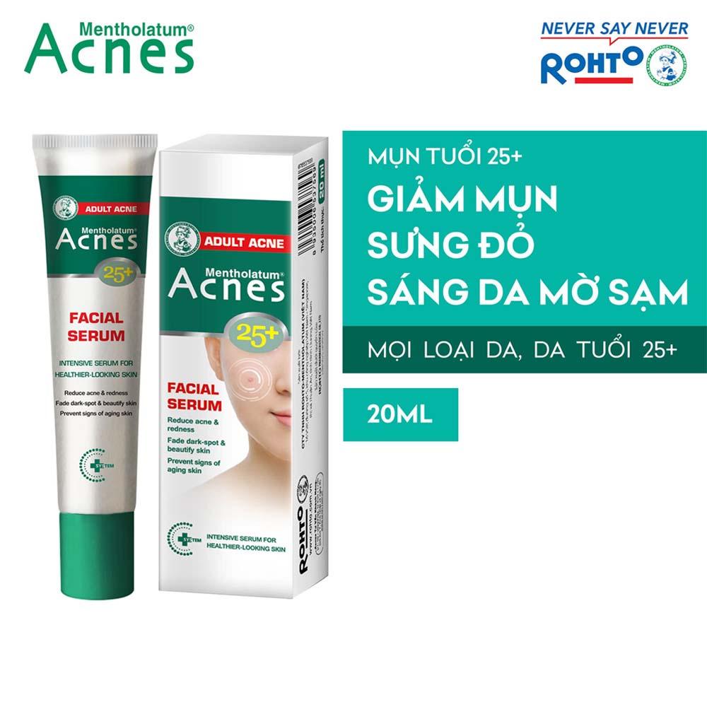 Tinh chất chuyên biệt cho da mụn tuổi trưởng thành Acnes 25+ Facial Serum 20ml