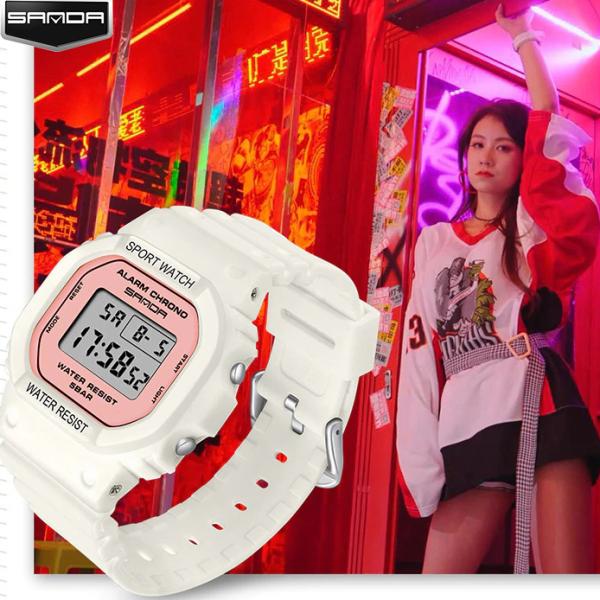 Nơi bán Đồng hồ Nữ thể thao SANDA CRIS, Thương hiệu Cao Cấp Của Nhật, Chống Nước Tốt - Đồng hồ nữ thể thao, Đồng hồ nữ đẹp, Đồng hồ nữ giá rẻ, Đồng hồ nữ chống nước, Đồng hồ nữ cao cấp, Đẹp,Sang trọng,Đẳng cấp