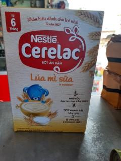 Bột Ăn Dặm Nestle Cerelac - Lúa Mì Và Sữa (Hộp 200gram) thumbnail