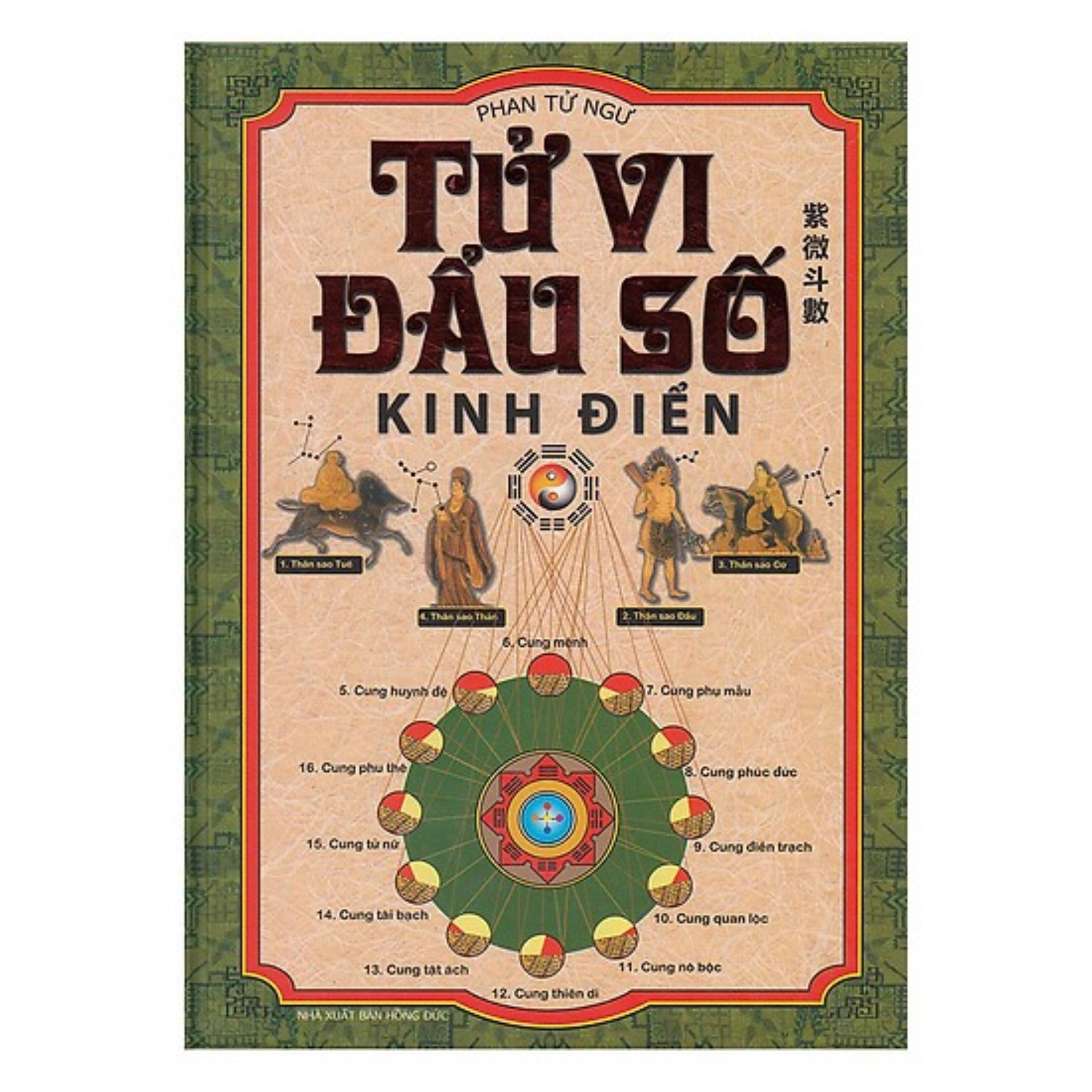 Mua Sách - Tử Vi Đẩu Số  Kinh Điển