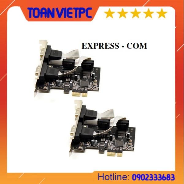 Giá Card pci express to com dùng cho main h61