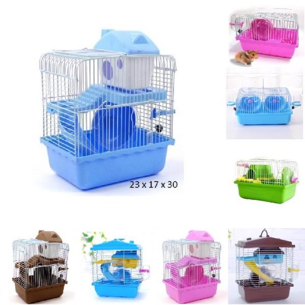 Lồng chuột hamster đầy đủ phụ kiện [ XẢ HÀNG LẤY TƯƠNG TÁC] [ Sản phẩm và phụ kiện như hình ]
