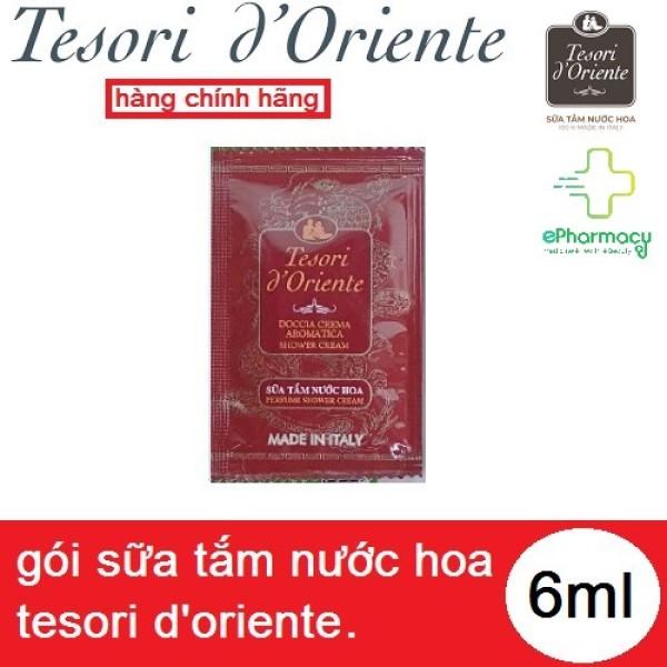 Sữa tắm nước hoa Tesori DOriente - Sữa tắm xích gói Tesori DOriente Italia gói 7ml