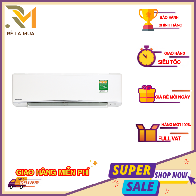 Bảng giá Máy lạnh Panasonic CU/CS-XPU12XKH-8 Inverter 1.5 HP - Công suất lạnh 12000 BTU, Công nghệ kháng khuẩn, khử mùi Nanoe-X, Loại gas sử dụng R-32