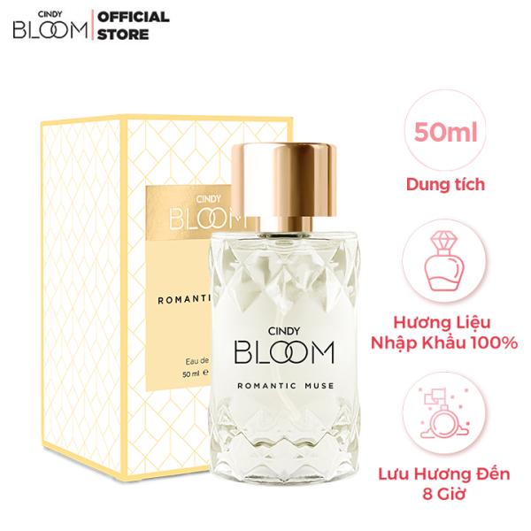 Nước hoa Cindy Bloom Romantic Muse 50ml - Quyến Rũ