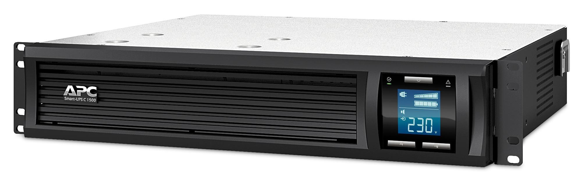 Bảng giá Bộ lưu điện: Smart-UPS C 1500VA LCD RM 2U 230V - SMC1500I-2U Phong Vũ