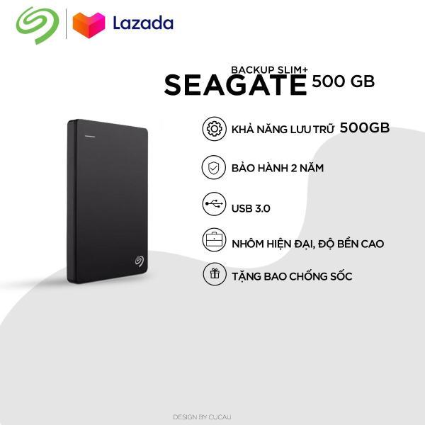 Bảng giá Ổ Cứng Di Động Seagate Backup Slim Plus 500GB Phong Vũ