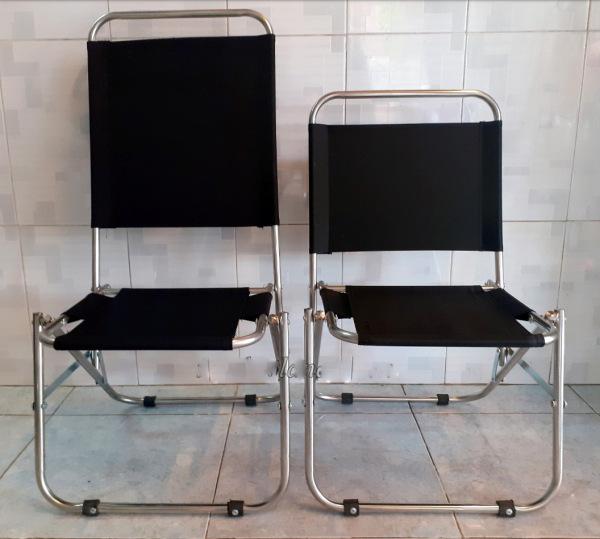 Ghế xếp inox - ghế cafe - Ghế dã ngoại